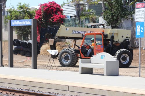 Work Begins On Poinsettia Station Improvements Project