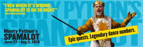 "Cygnet Kicks Off Season 16 With Monty Python's ""Spamlot"""