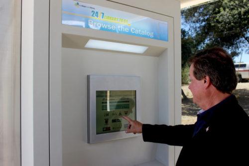 New 24/7 Library Kiosk Opens In Boulevard