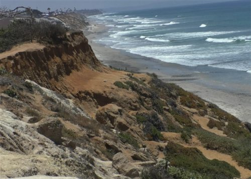 Juvenile Falls Down Cliff In Carlsbad