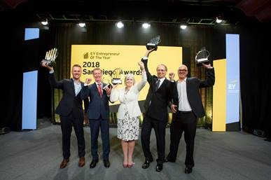 EY Announces Winners Of Entrepreneur Of The Year 2018 San Diego Awards