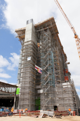 Sycuan Casino Celebrates Topping Off Construction Milestone