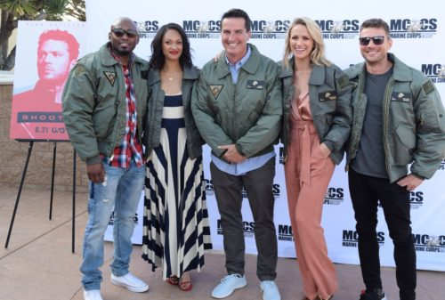 "Cast Of USA Network's ""Shooter"" Visit MCAS Miramar For Exclusive Screening"