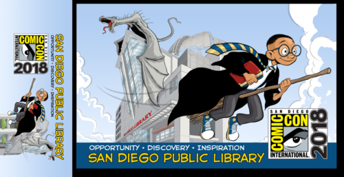 San Diego Offers Exclusive Comic-Con Library Card