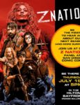 Lydia Hearst And  DJ Qualls Join Z Nation Panel At Comic Con