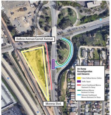Traffic Improvements To Balboa Avenue, Morena Boulevard On-Ramps Set To Open