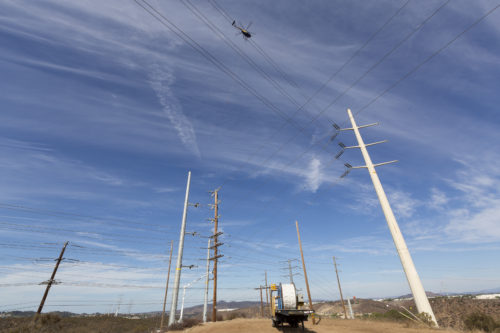 SDG&E Energizes New Transmission Line, Improving Reliability For Customers
